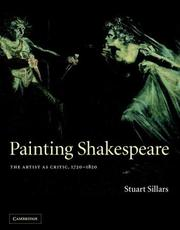 Cover of: Painting Shakespeare