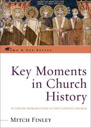 Cover of: Key moments in church history