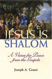 Cover of: Jesus is shalom