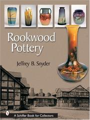 Cover of: Rookwood pottery