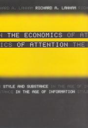 Cover of: The economics of attention