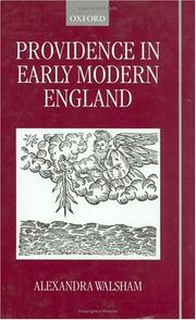 Cover of: Providence in early modern England