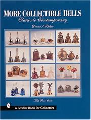 Cover of: More collectible bells