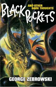 Cover of: Black pockets and other dark thoughts