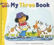 Cover of: My three book