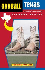 Cover of: Oddball texas