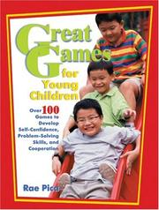 Cover of: Great games for young children