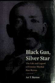 Cover of: Black gun, silver star