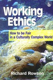 Cover of: Working ethics