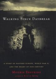 Cover of: Walking since daybreak