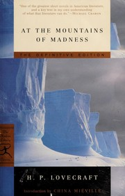 Cover of: At the Mountains of Madness