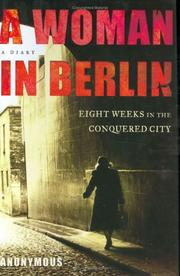 Cover of: A woman in Berlin