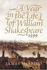 Cover of: A year in the life of William Shakespeare