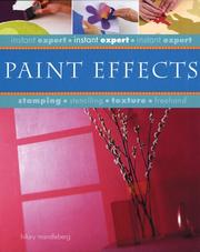 Cover of: Paint effects
