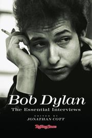 Cover of: Dylan, the essential interviews