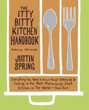 Cover of: The itty bitty kitchen handbook