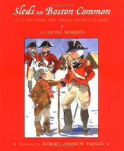 Cover of: Sleds on Boston Common: a story from the American Revolution