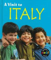 Cover of: A visit to Italy
