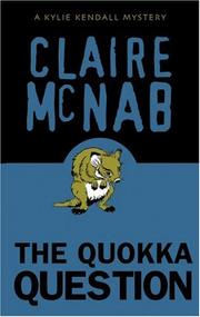 Cover of: The quokka question