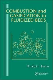 Cover of: Combustion and gasification in fluidized beds