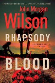 Cover of: Rhapsody in blood: a Benjamin Justice novel
