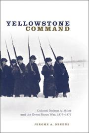 Cover of: Yellowstone Command