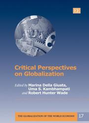 Cover of: Critical perspectives on globalization