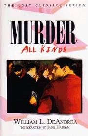 Cover of: Murder--all kinds