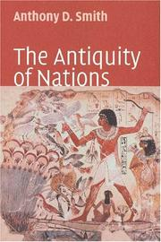 Cover of: The antiquity of nations