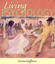 Cover of: Living psychology