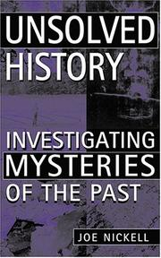 Cover of: Unsolved history