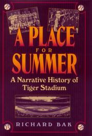 Cover of: A place for summer