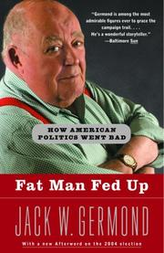 Cover of: Fat man fed up
