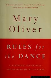 Cover of: Rules for the dance
