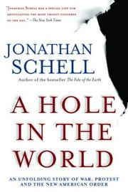 Cover of: A hole in the world