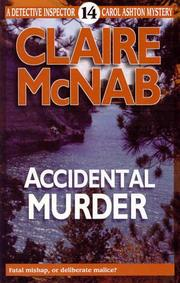 Cover of: Accidental murder