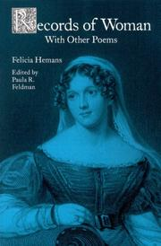 Cover of: Records of woman, with other poems