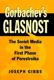 Cover of: Gorbachev's glasnost