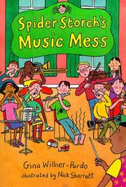 Cover of: Spider Storch's music mess