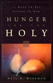 Cover of: Hunger for the holy