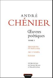 Cover of: Œuvres poétiques