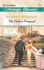 Cover of: The Duke's Proposal