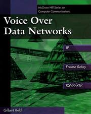 Cover of: Voice over data networks