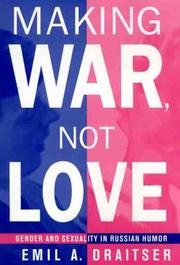 Cover of: Making war, not love