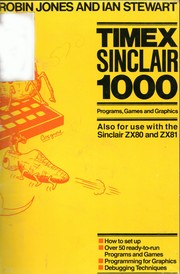 Cover of: Timex Sinclair 1000