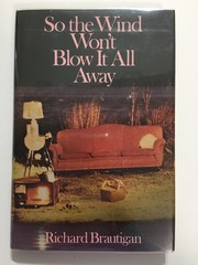 Cover of: So the wind won't blow it all away