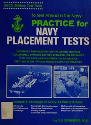 Cover of: Practice for Navy placement tests