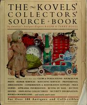 Cover of: The Kovels' collectors' source book