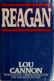 Cover of: Reagan