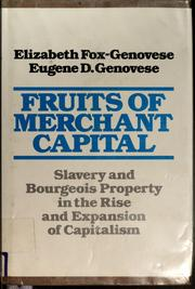 Cover of: Fruits of merchant capital